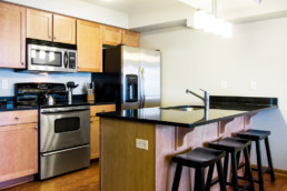 1 Bedroom Condo kitchen